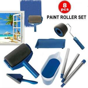 Paint Multifunctional Wall Decorative Paint Roller Corner Brush Handle Tool kit
