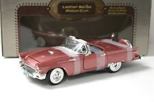 1:18 Road Signature Ford Thunderbird REAL LEATHER purple-red