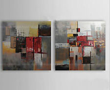 ZWOPT260  fine 2pcs abstract handpainted modern wall art OIL PAINTING ON CANVAS