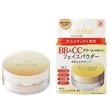 KANEBO FRESHEL BB & CC Cream NATURAL Face Beauty Powder SPF26 PA++ 10g JAPAN NEW
