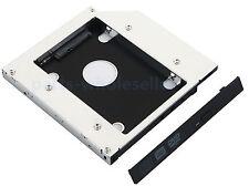 2nd Hard Drive HD HDD SSD Caddy Adapter for HP Pavillion DV6 DV7 DV8 HDX18 HDX16