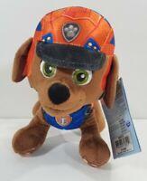 "Spin Master Paw Patrol 8"" ZUMA Plush Toy Standing Plush DINO RESCUE Pup"