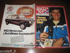 AUTOSPRINT 1982/44=DIDIER PIRONI=PEUGEOT 305=RALLY TRABUCCHI=