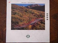 95 Honda Sport Touring Series Nos Oem Dealer'S Sales Sheet Literature Brochure 2