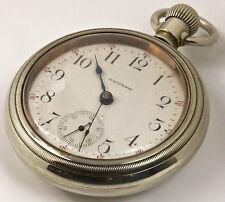 Waltham 2 Tone Silveroid Pocket Watch Hand-winding, Open Face, USA