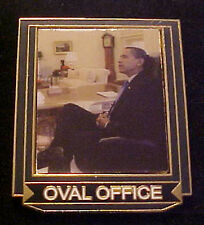 BARACK OBAMA OVAL OFFICE WILLABEE & WARD COMMEMORATIVE SERIES PIN