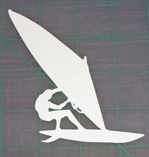 Windsurfing Logo Vinyl Decal Sticker Wind Surfing 3.5""