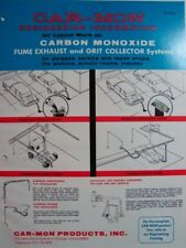1975 CAR-MON Exhaust Collector System Johns-Manville TRANSITE ASBESTOS product