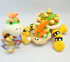 "Lot 2 Mario Cute Bowser Koopa 6-9"" Plush Toy-MW130"