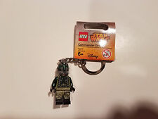 LEGO Star Wars Commander Gree Key Chain NEW Mint Minifig Keychain