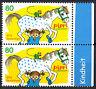 3507 postfrisch Paar senkrecht Rand rechts BRD Bund Deutschland Briefmarke 2019