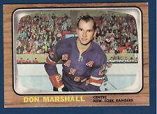 DON MARSHALL 66-67 TOPPS 1966-67  NO 24 EX++  2651