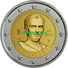 ITALIA 2017 2 EURO 2000 ANNI MORTE DI TITO LIVIO ITALY ITALIEN ITALIE ИТАЛИЯ