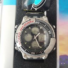 RELOJ CASIO AD-301 ANALOG DIGITAL VINTAGE NUEVO RARE WATCH NEW NOS JAPAN