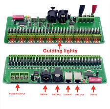 30 channel DMX rgb LED strip controller dmx 512 decoder dmx dimmer driver 12V