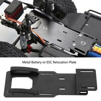 Metal Battery / ESC Relocation Plate For 1/10 Axial SCX10 II AX90046 RC Car Kits