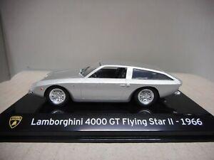LAMBORGHINI 4000 GT FLYING STAR II 1966 REGALO SUPERCARS 1:43 IXO SALVAT