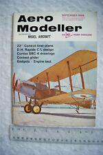 1968 Aeromodeller Magazine - September + Plan
