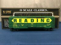 K-line Reading #17039 O Scale Classic Plug Door Boxcar K761-1931