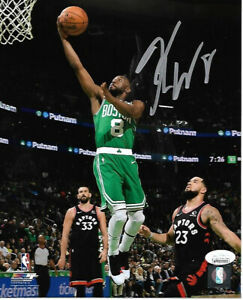 Kemba Walker Boston Celtics Autographed hand Signed 8x10 photo JSA