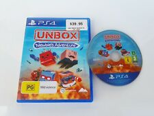 Unbox, Newbie's Adventure, Sony PlayStation 4 Game, PS4, Used