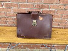 Vintage Leather Doctors Gladstone Bag Briefcase Laptop Attache