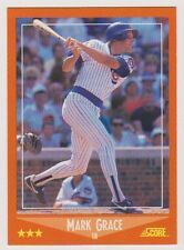 1988 Score Traded #80T Mark Grace RC Rookie Chicago Cubs