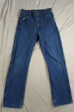 Wrangler 13MWZBP Boys Denim Jeans Dark Tag Size 16 Reg Measure 28x31 Cowboy