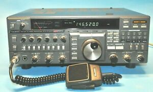 Nice Yaesu FT-736R 6 & 2 Meters 440mhz 1.2Ghz CTCSS Voice Unit CW Filter Loaded!
