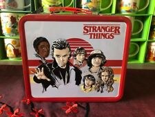 STRANGER THINGS LUNCHBOX METAL BOX OFFICIAL NETFLIX WELCOME TO HAWKINS