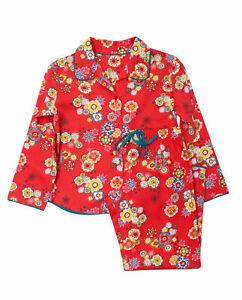 Cyberjammies Girls Santas Coming Floral Print Pyjama Set (10-11yrs)