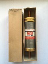 Economy 250 Amp 600 Volt Renewable Fuse NEW OLD STOCK IN BOX