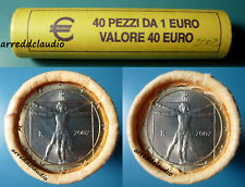 ITALIA ROTOLINO ROLL 40 X 1 EURO FDC 2002