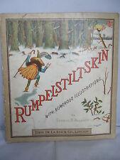 1882 Rumpelstiltskin - Illustrated by George R Halkett - The Brothers Grimm