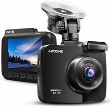 AZDOME 4K Dash Cam UHD 2160P Built-in GPS WiFi Car Camera DVR Recorder (GS63H)