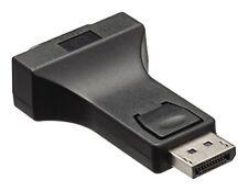 Câbles et adaptateurs de DisplayPort mâle à DVI femelle pour écran et équipement audio et vidéo