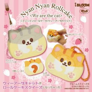 Ibloom Squishy Mike Pan iBloom Nyan Rollcake Cake Roll Cat Squishy NEW