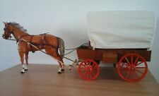 Vintage Marx Gabriel Lone Ranger Covered Wagon and Horse