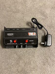 Whirlwind THS 2 Talkback headphone Box! Sports Announcer Box Professional Audio