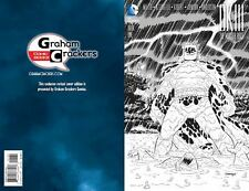 DARK KNIGHT III MASTER RACE #1 GRAHAM CRACKERS COOKE B&W COVER GRADE 8.5 VF+