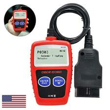 Automotive OBDII Code Reader OBD2 Scanner Car Check Engine Fault Diagnostic Tool