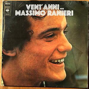 LP - MASSIMO RANIERI - VENT'ANNI - 1971 - STAMPA OLANDESE