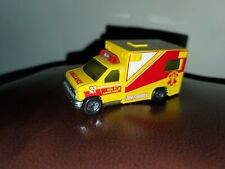 Vintage Matchbox VHTF 1996 Ford Ambulance- Yellow and Red#27 MINT