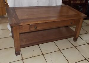 Cherry / Pine Coffee Table with Drawer (CT188)