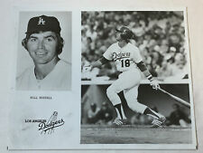 1970's 8x10 photo ~ BILL RUSSELL ~ Los Angeles Dodgers