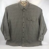 Orvis Mens Button Down Dress Shirt Earth Multicolored Size XXL