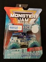 NEW! 2019 Monster Jam FIRE & ICE Special Edition 1:64 GRAVE DIGGER Spin Master