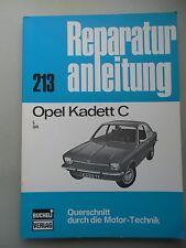 Reparaturanleitung 213 Opel Kadett C L SR Querschnitt Motor-Technik Bucheli