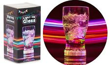 Light Up Plastic Drinking Glass Tumbler LED Lights Hen Stag Party Bar Accessory