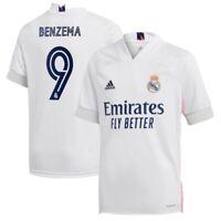 Real Madrid Benzema #9 Home Jersey Medium